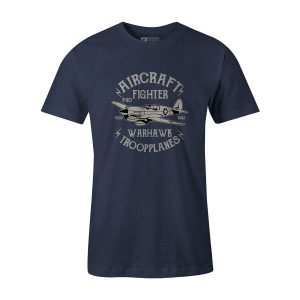 Warhawk T Shirt Heather Denim
