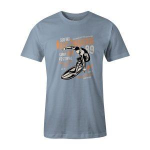 Wave Conqueror T Shirt Baby Blue