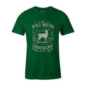 Wild Nature T Shirt Kelly