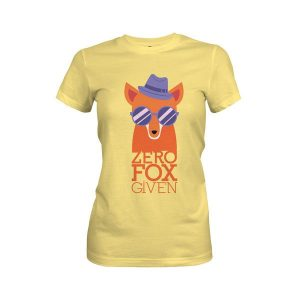 Zero Fox Given T Shirt Banana Cream