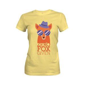 Zero Fox Given T Shirt Banana Cream
