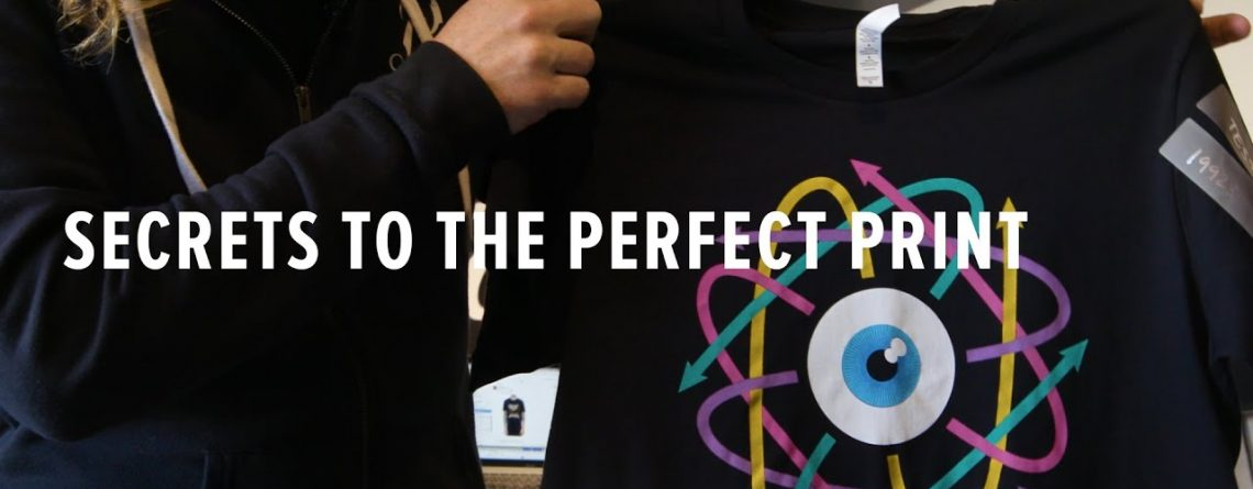 Screen Printing 101: What It Takes To Get the Perfect T Shirt Print