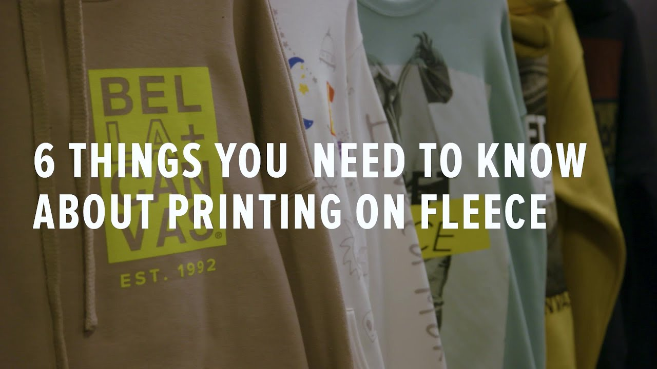 How to Print on FLEECE — CRUCIAL TIPS You Need to Know