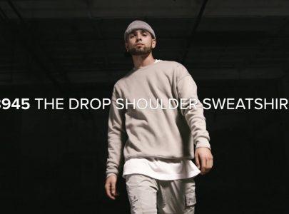 STREET FLEECE: The Drop Shoulder Sweatshirt