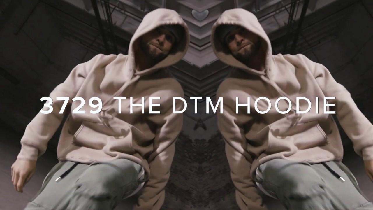STREET FLEECE: The DTM Hoodie