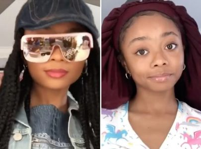 Marsai Martin and Storm Reid Put Their Own Cozy Twist on the Stylish #DontRushChallenge